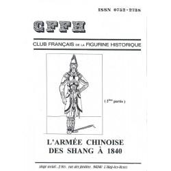 L'armée chinoise des Shang à 1840 . 2ème  partie