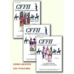 LA LIBÉRATION DE L'AMERIQUE ESPAGNOLE. 3 Volumes