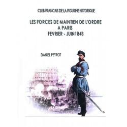 Les forces de maintien de l'ordre Paris 1848