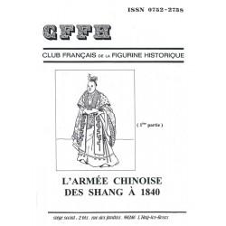 L'armée chinoise des Shang à 1840 . 1ère partie